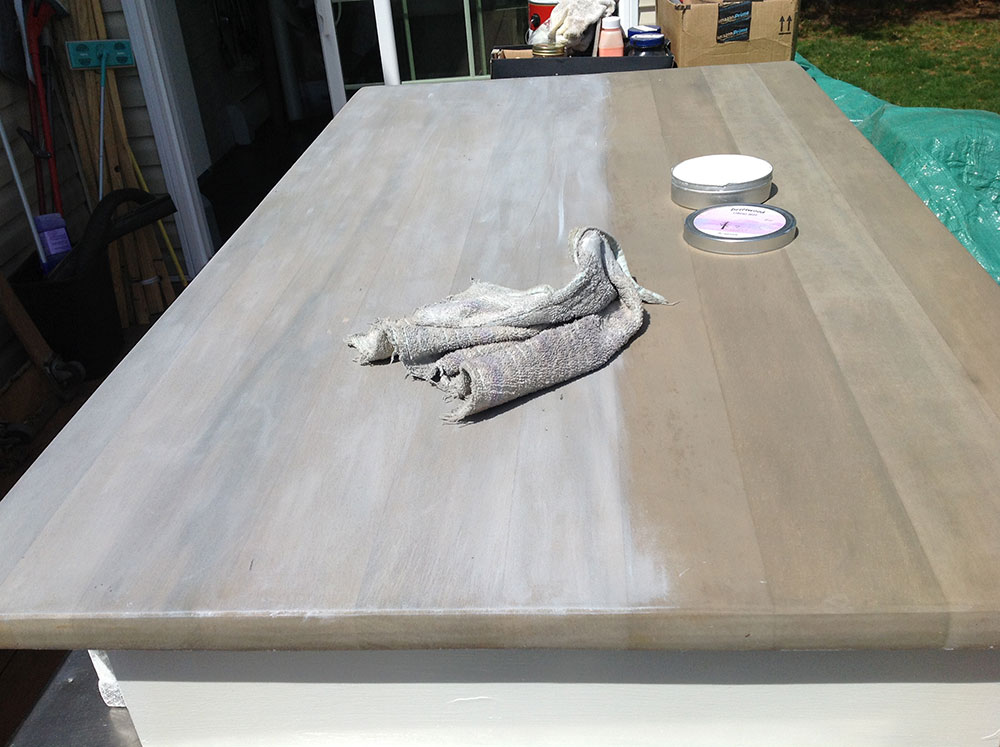 Customer Pictures For Driftwood Finish