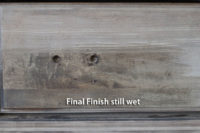 Driftwood Final Finish just applied