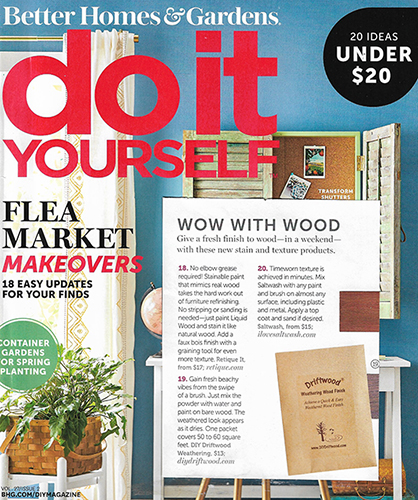 Driftwood Weathering Wood Finish Do It Yourself Magazine
