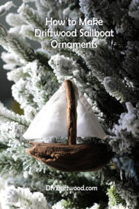 driftwood christmas ornaments