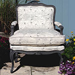 Driftwood Weathering Wood Finish Bergere Chair Project