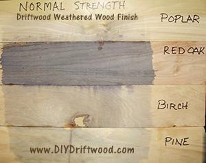 Driftwood Sample Board