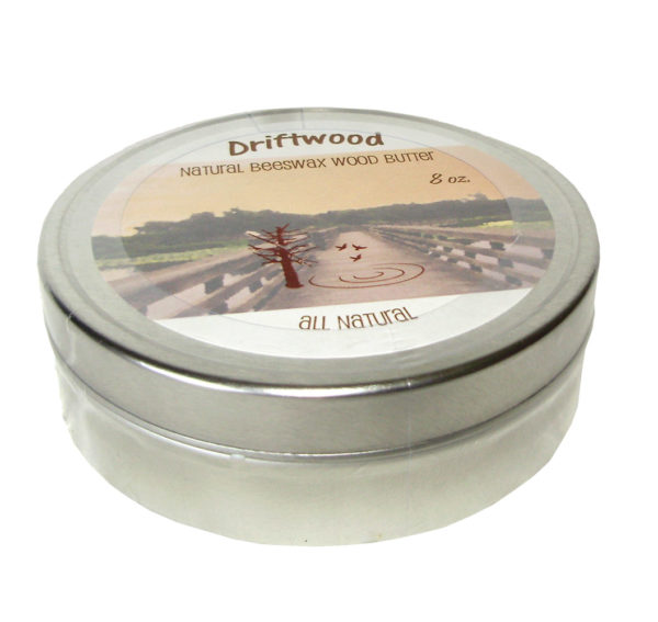 Driftwood Natural Beeswax Wood Butter