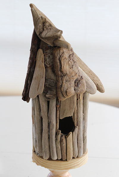 Make a Whimsical Driftwood Birdhouse