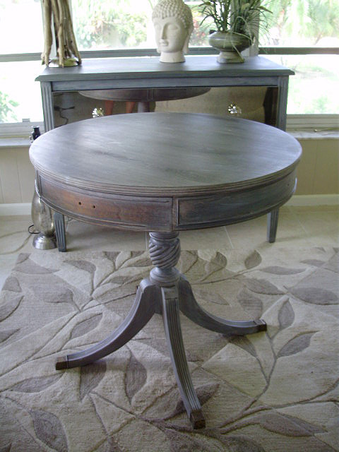 Driftwood Liming Wax Table