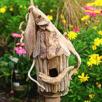 Make a Driftwood Birdhouse