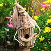 Make a Driftwood Birdhouse