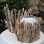 Driftwood Candleholder and Planter