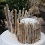 Driftwood Candleholder and Planter