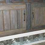 Driftwood Weathered Wood Finish Bathroom Vanity