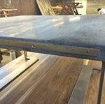 Driftwood Weathered Wood Finish on table