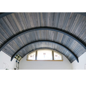 Driftwood Weathering Wood Finish on custom ceiling