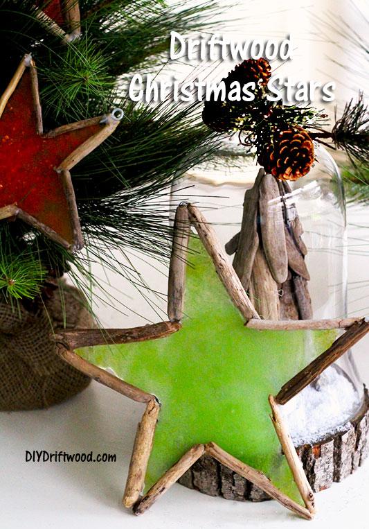 Driftwood Christmas Stars