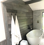 Driftwood Weathering Wood Finish Bathroom