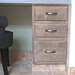 Driftwood Weathering Wood Finish Desk