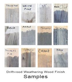 Driftwood Final Finish & Weathering Wood Finish