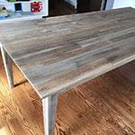 Teak table by Jeff L.