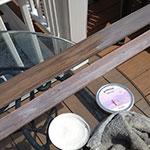 Tom C using Driftwood Weathering Wood Finish & Liming Wax