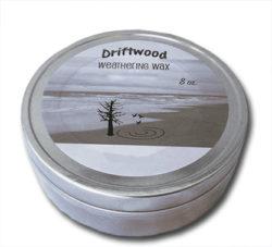 Driftwood Weathering Wax in Slate Gray