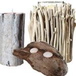 Make a Driftwood Candleholder