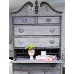 Driftwood Weathered Wood Finish Highboy Project