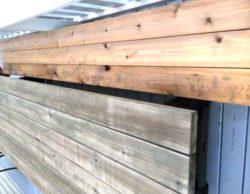 Driftwood Weathered Wood Finish on Cedar