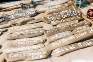 driftwood placecards