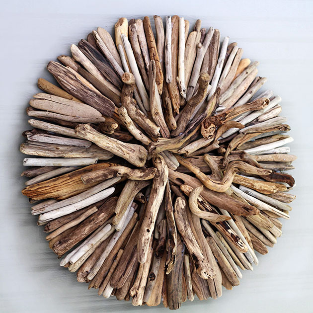 How to Make a Driftwood Wall Sculpture