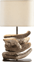 Create a driftwood lamp