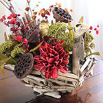 Driftwood Thanksgiving Turkey Centerpiece