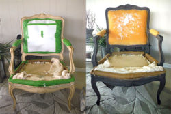 Driftwood Weathered Wood Finish Chair