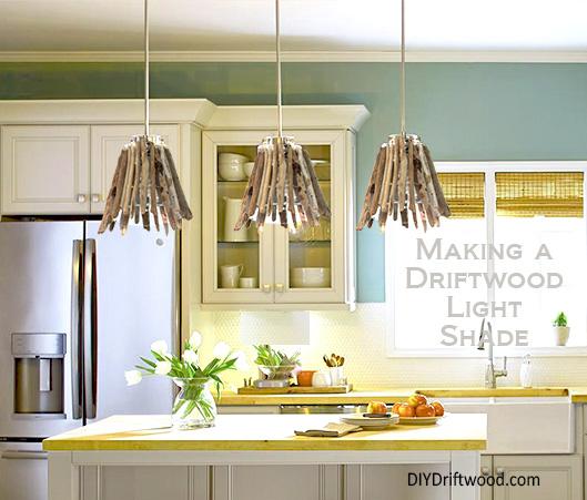 Driftwood Lamp Shade