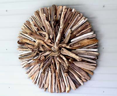 Driftwood Wall Sculpture